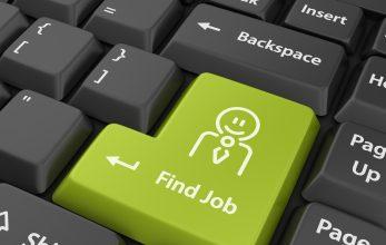 social media for job