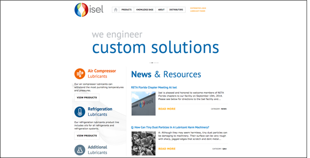 After-IselInc.com'sredesigned-site