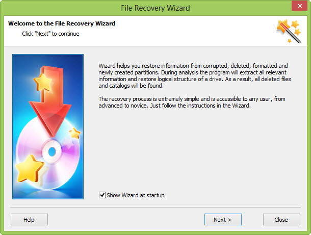 Wizard-Recovery