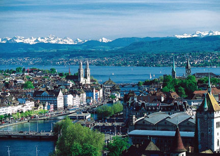 Zuerich Best Cities Outside the US for a Job in Finance