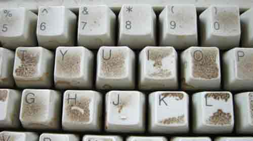 How to Deal with a Dirty Keyboard