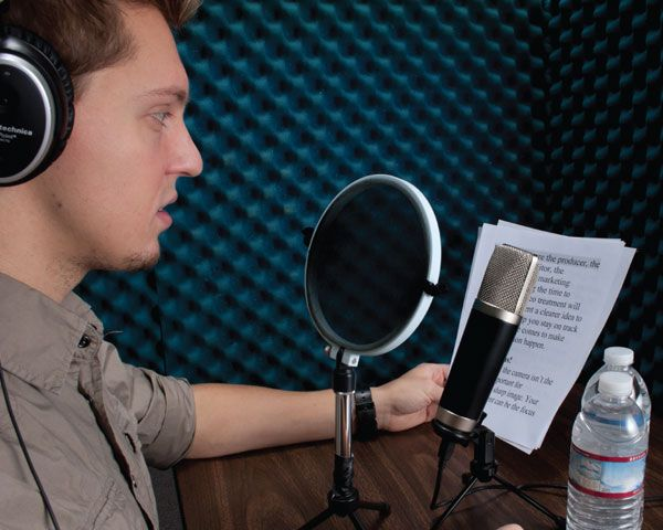 Voice-Over Recording – Inside The Recording Studio