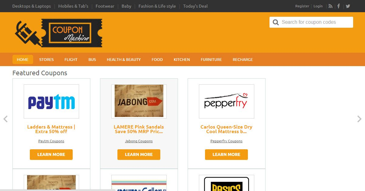 CouponMachine – A One-Stop Destination for All Kinds of Coupons