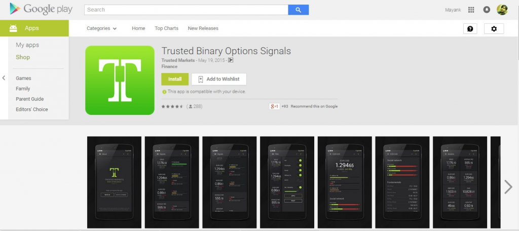 Trusted binary option sites