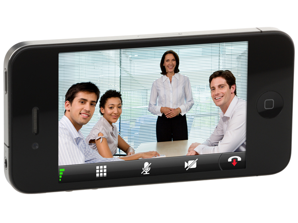 video conferencing with iphone