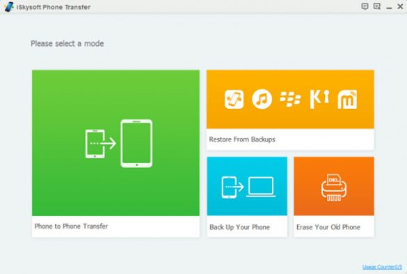 iskysoft phone transfer features