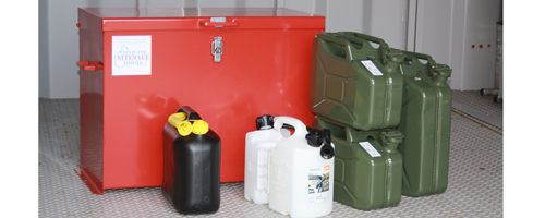 How Do Racing Teams Store And Transport Fuel?