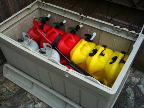 Storing Fuel Safely On Your Premises