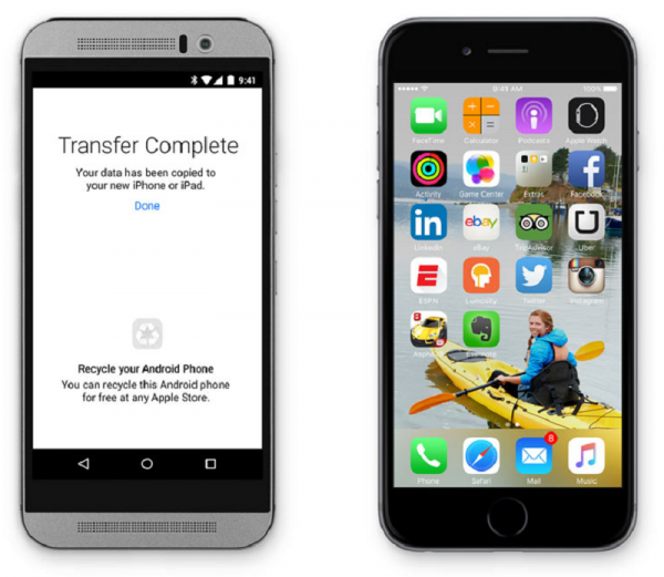 Apple Releases 'Move to iOS' App for Android