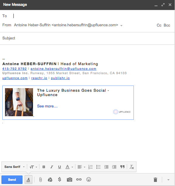 how to write an effective email signature