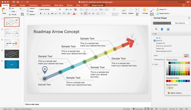 roadmap powerpoint
