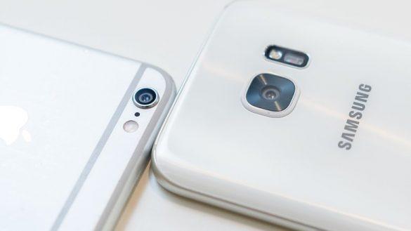 Galaxy S7 vs iPhone 6s Camera