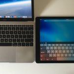 iPad Pro vs. MacBook Mini 12 inch