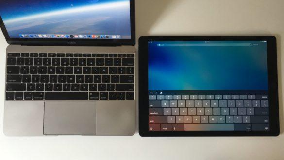 ipad pro vs macbook mini