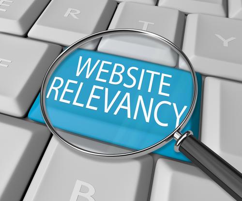 website relevancy