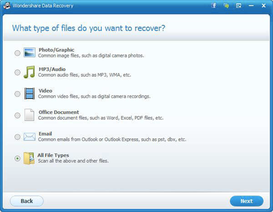 benefits of wondershare data recovery