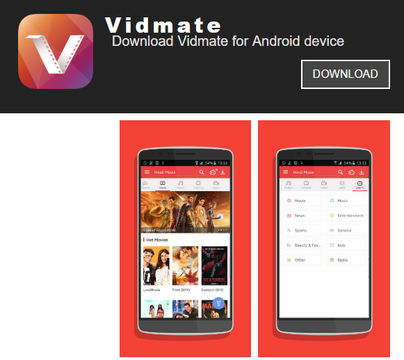 Vidmate – A Solution To All Your Download Needs