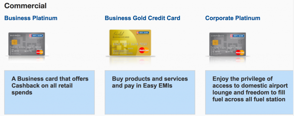 How to track your hdfc credit card application status commercial cards screen shot 2016 09 03 at 125058 am reheart Image collections