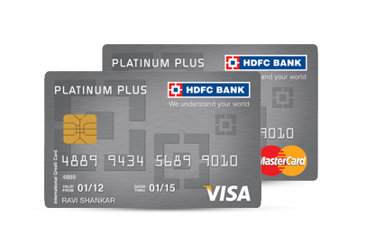 Hdfc forex plus platinum card