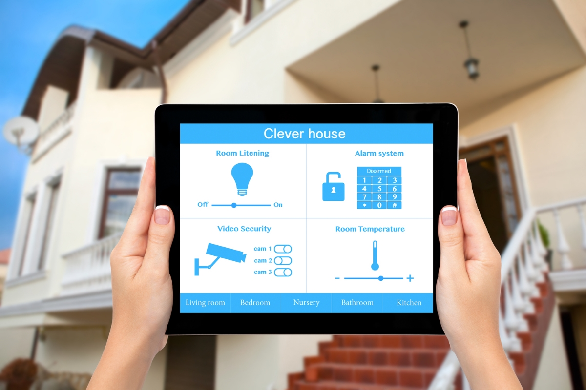 What can smart home tech do for your business digital for Alarme domotique maison