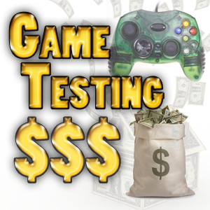 Earn money by testing games