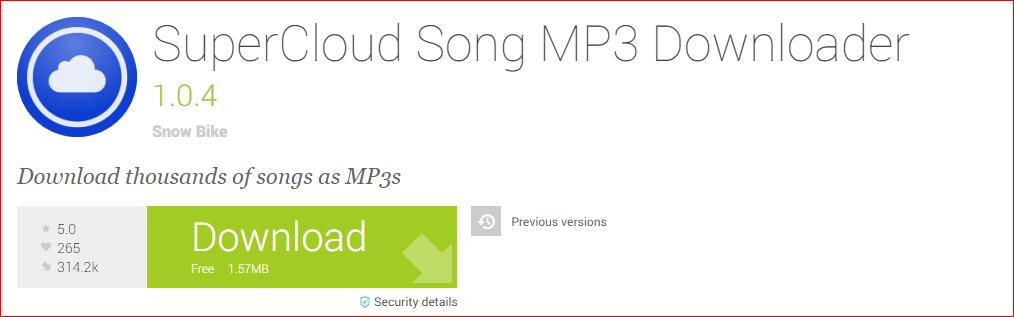 SuperCloud Music Downloader