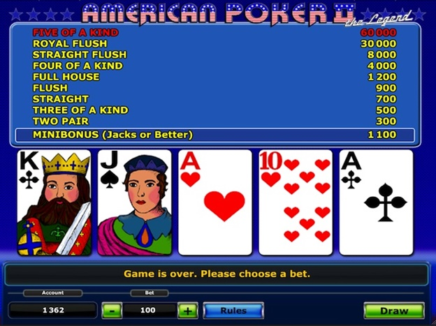 Best Online Video Poker Games In 2017