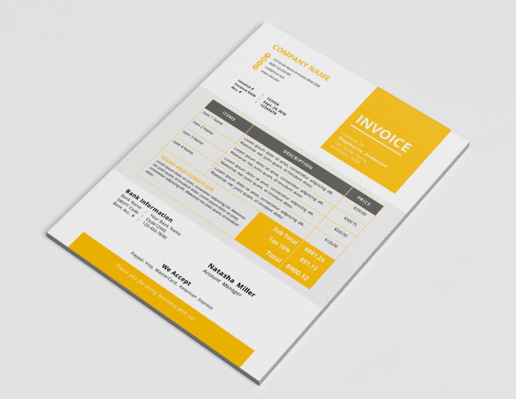 invoice branding