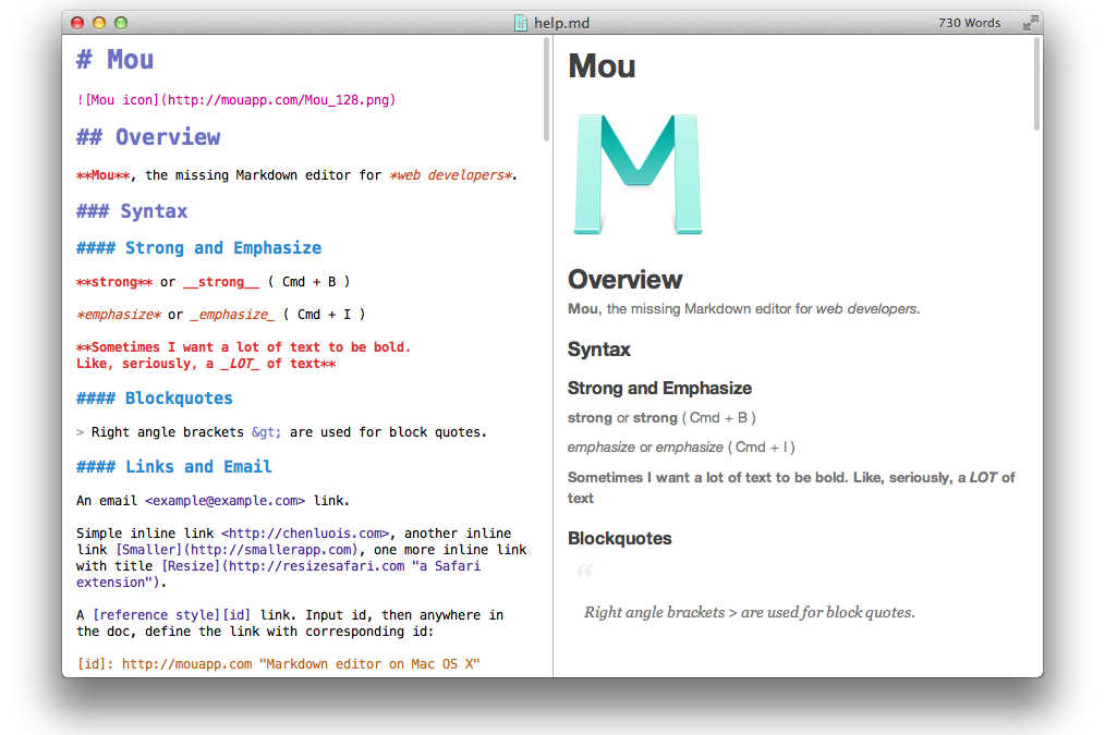 Writers App And Markdown Editor For Mac