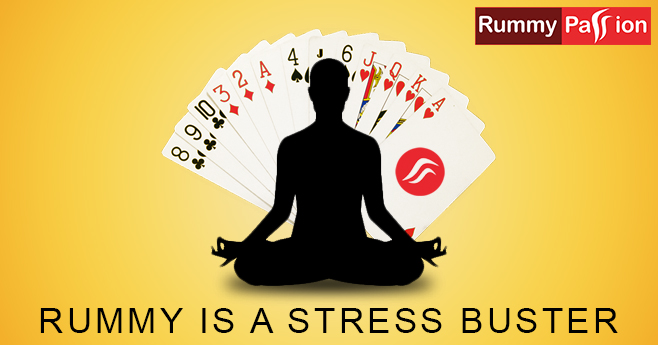 How Can Rummy Relieve Stress?