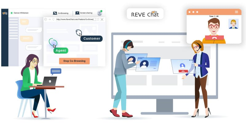 REVE Chat: Best Live Chat Software For Unified Customer Experience
