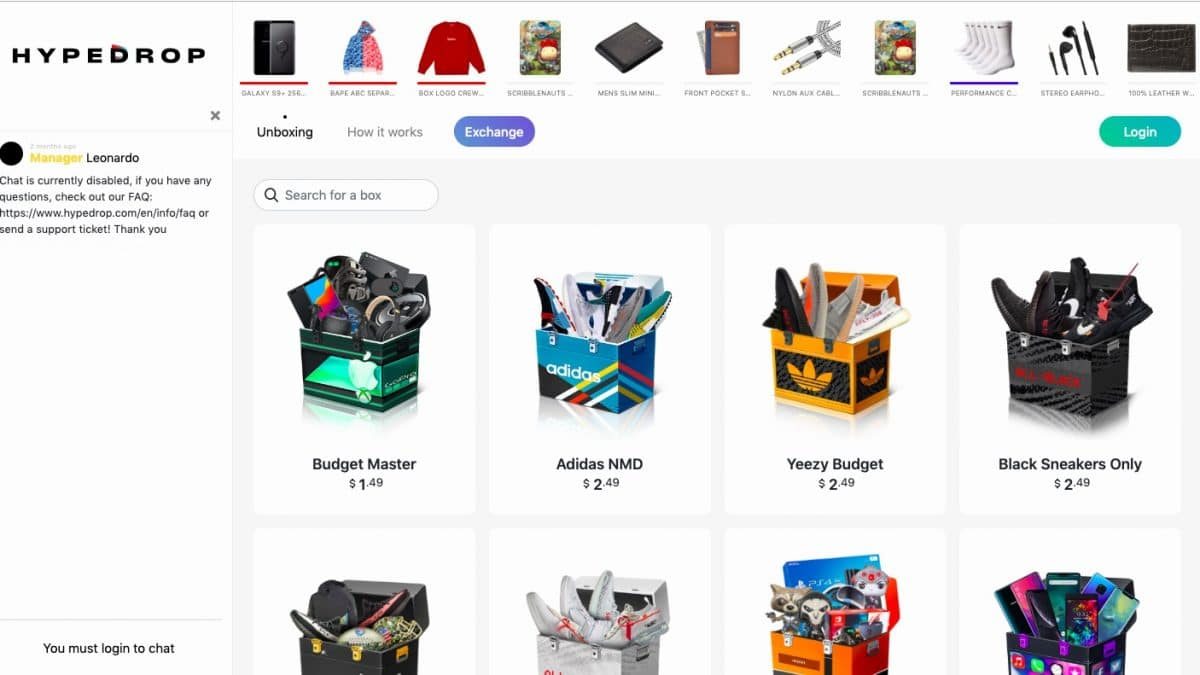 HypeDrop — An Online Mystery Box Service That Brings More Than Mystery