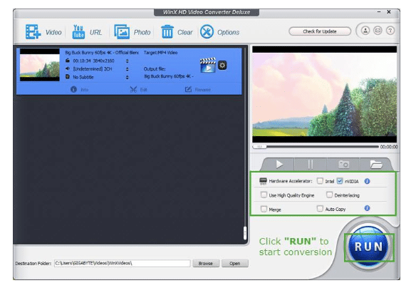 WinX HD Converter Deluxe Review: A Power-Packed 4K Video Converter With Wider Compatibility