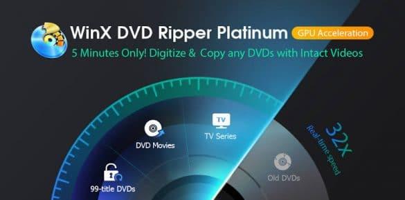 WinX DVD Ripper Platinum- Backup & Digitize DVD Flawlessly [Giveaway]