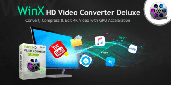 Convert 4K MOV Video to MP4 with WinX HD Video Converter Deluxe
