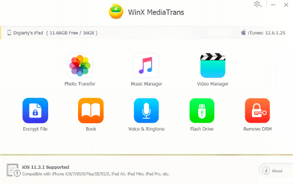 WinX MediaTrans Review — An iPhone Manager that Every Apple User Deserves