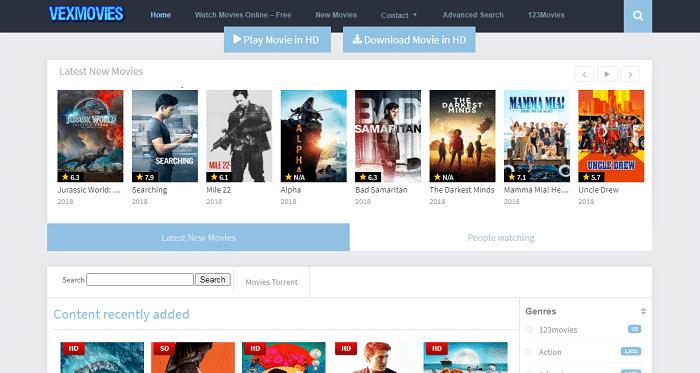 vex movies