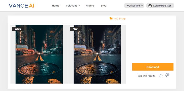 Vance AI Photo Retoucher Online Tool Review