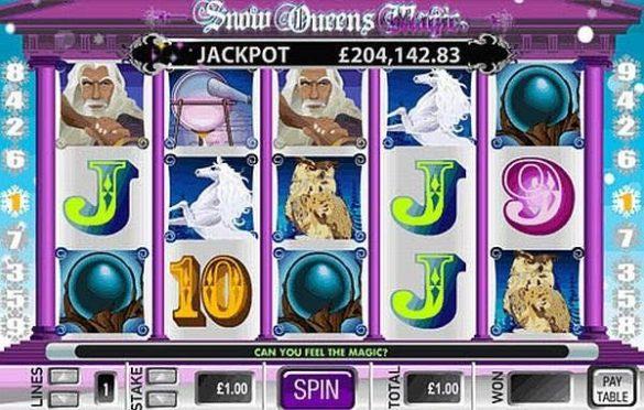 Snow Queens Magic Slot Machine