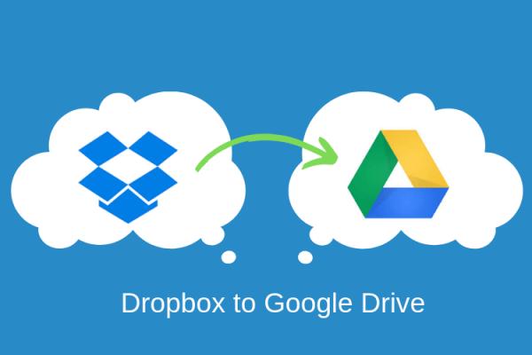 Transferring Data From Dropbox To Google Drive