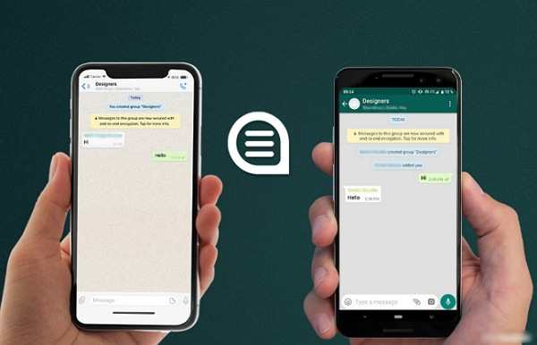 Guide to Transfer WhatsApp Messages, Photos, Videos Between iPhones
