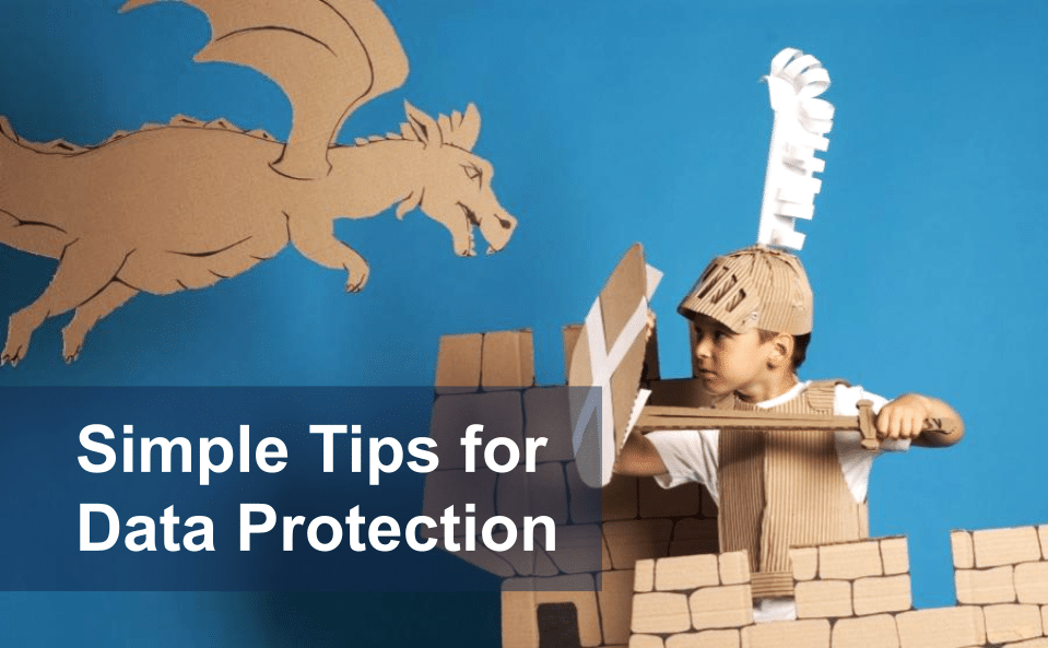 Company's Strong Cybersecurity Posture – Some Simple Tips for Data Protection
