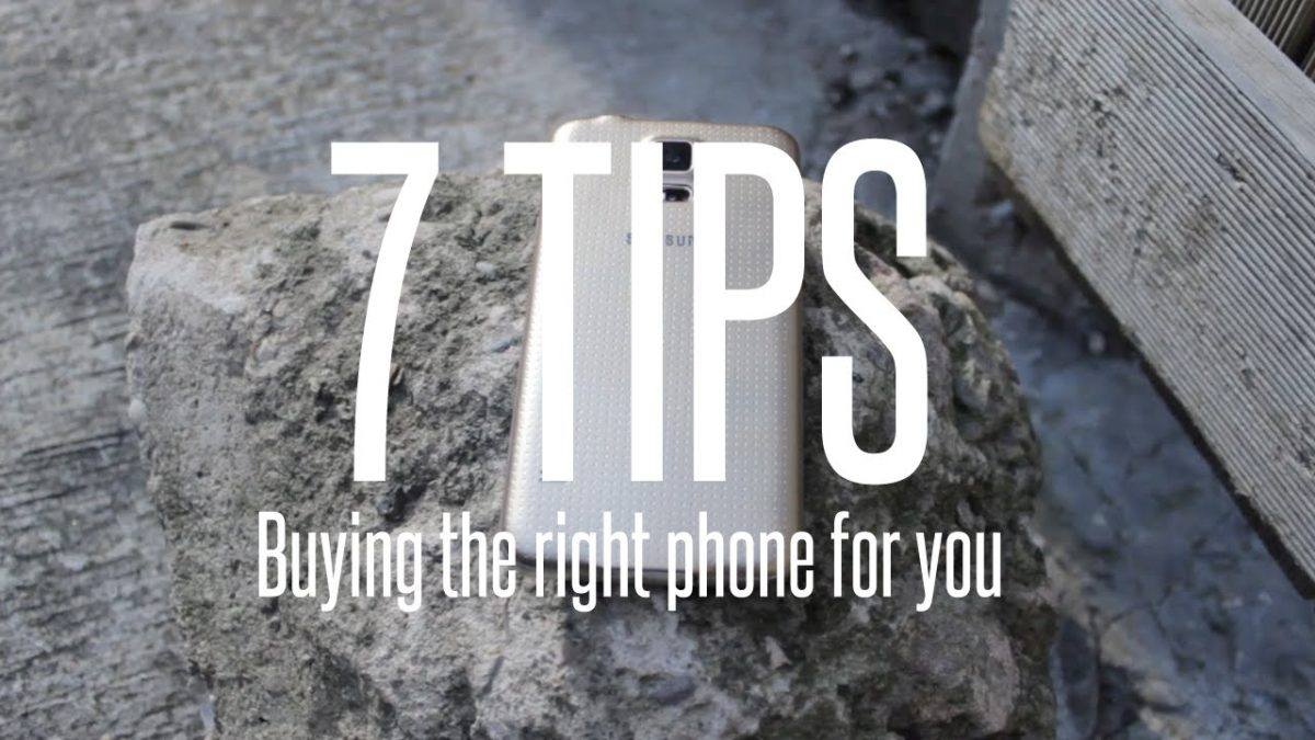 7 Tips For Buying A New Smartphone