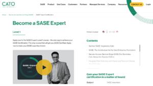 Cato Networks SASE Expert Certification