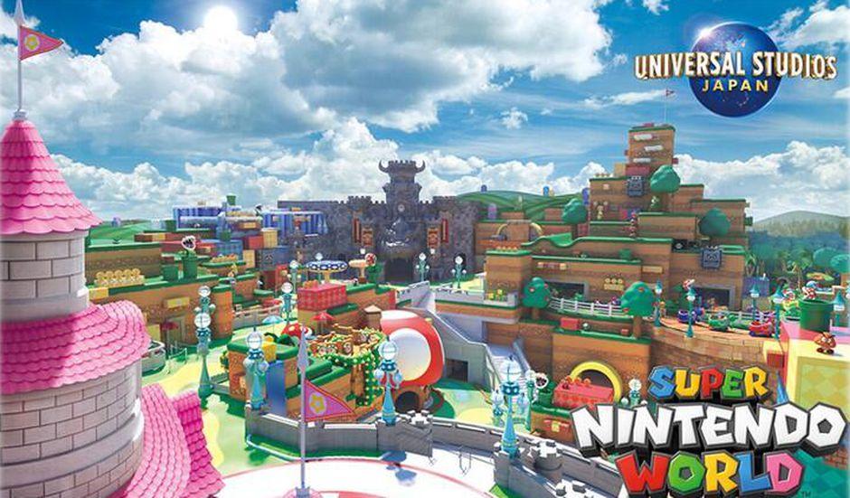 Super Nintendo World Osaka Park Reopens After the Lockdown