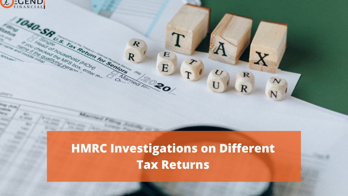 HMRC Investigations on Different Tax Returns