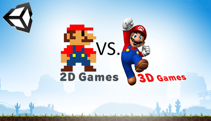 What Differences Between 2D and 3D Games Development