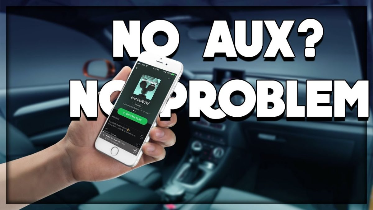 How to Play Music from Phone to Car without Aux or Bluetooth?